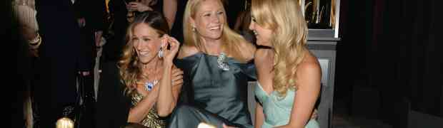 4 PARTY PHOTOS: Giggly Girls Gwyneth Paltrow, Kate Hudson, SJP Hang Out At Tiffany & Co. 1920s-Themed NYC Bash