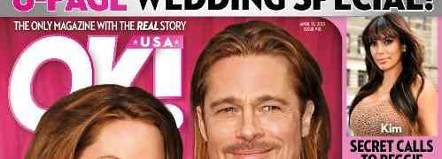 NEW 'OK!' COVER: Claims Brad Pitt & Angelina Are Married (With An 8-Page Special To 'Prove' It)