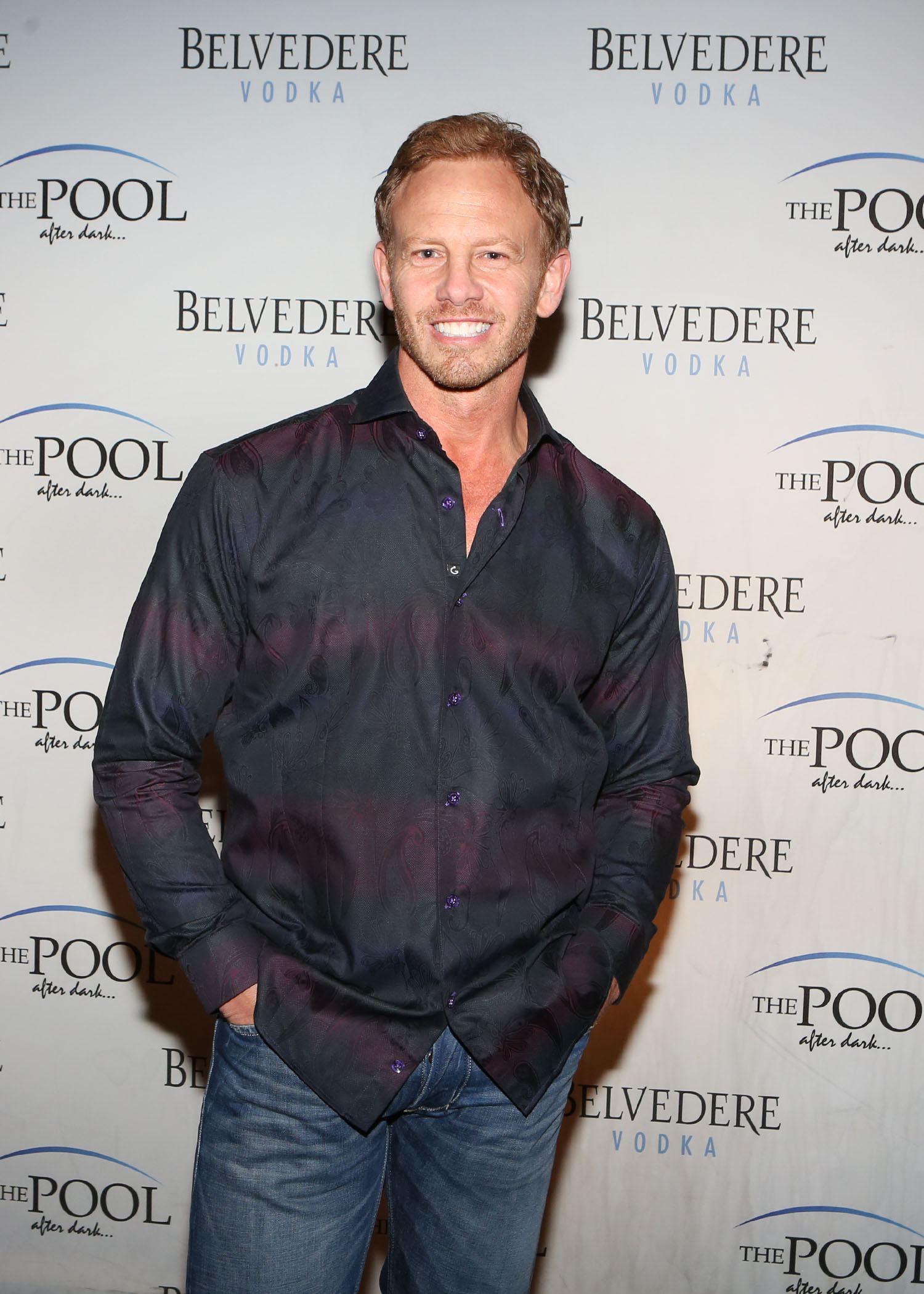 Ian Ziering at The Pool After Dark at Harrah's Atlantic City, where he hosted a party, on May 18. (Tom Briglia /PhotoGraphics)