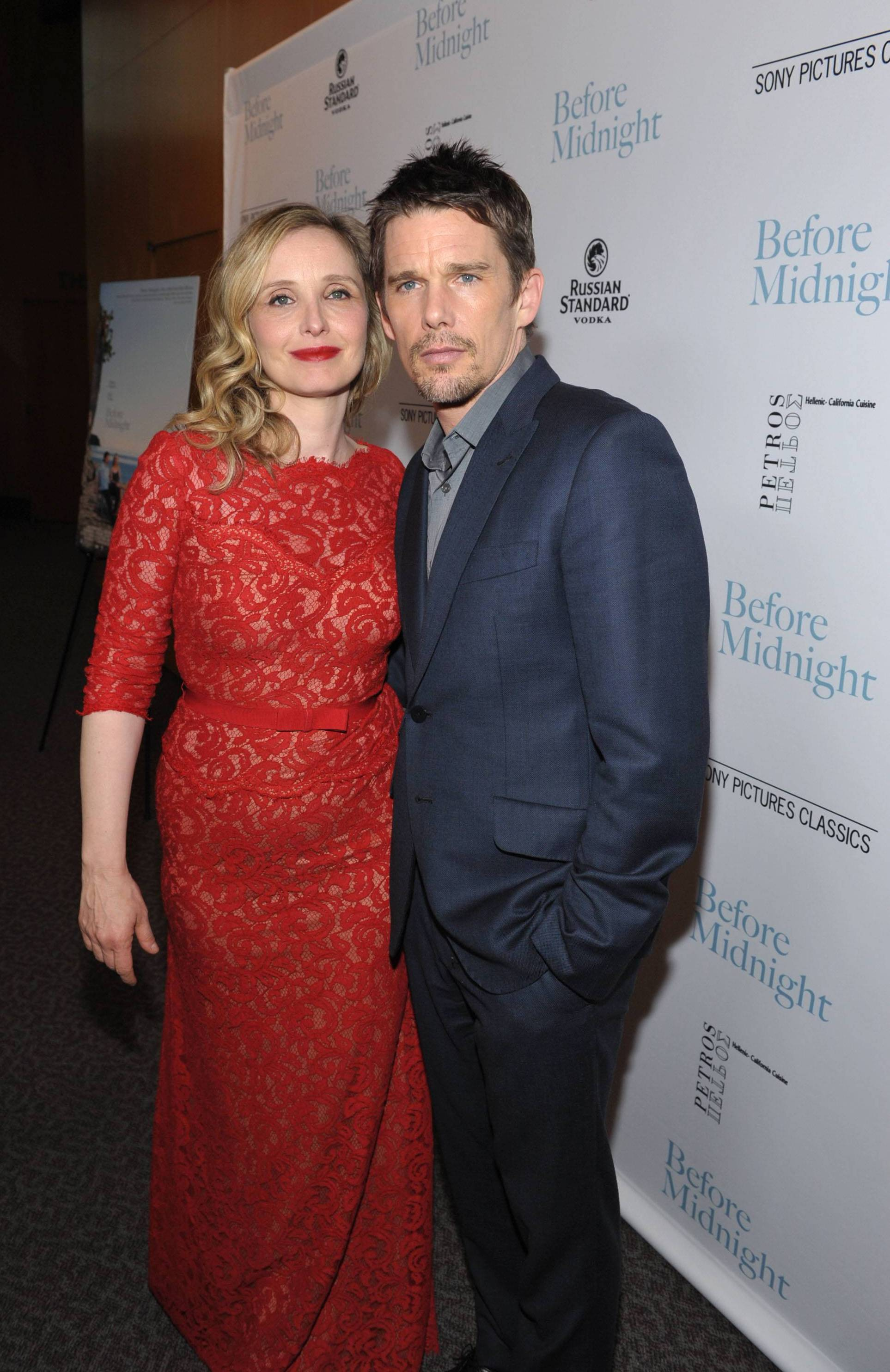 "Julie Delpy and Ethan Hawke at the Sony PIctures Classics premiere of ""Before Midnight"", on Tuesday, May 21, 2013 in Los Angeles. (John Shearer/Invision for A-List Communications/AP Images)"