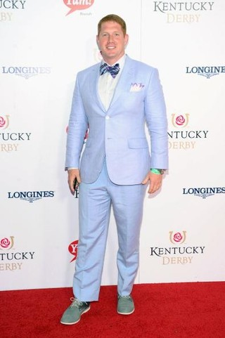 Shayne Graham at the 139th Kentucky Derby at Churchill Downs on May 4 in Louisville, Kentucky. (Michael Loccisano/Getty Images)