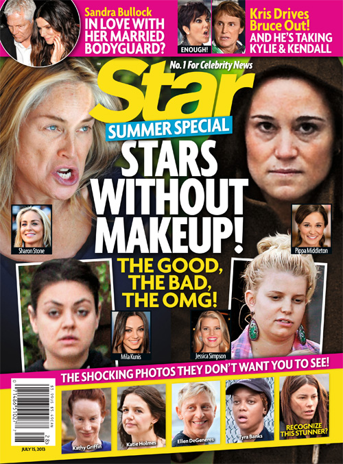 NEW 'STAR' MAGAZINE: Stars Without Makeup…Jessica Simpson, Mila