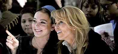 EXCLUSIVE: Lindsay Lohan Is 'Perfect...She's All Good...She's Happy' Says Mom Dina Lohan