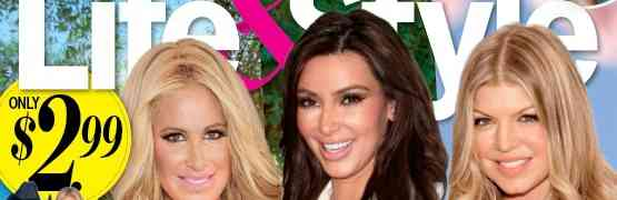 NEW 'LIFE & STYLE' COVER: Claims Kardashian 'Family Feud' Over North West Baby Photos