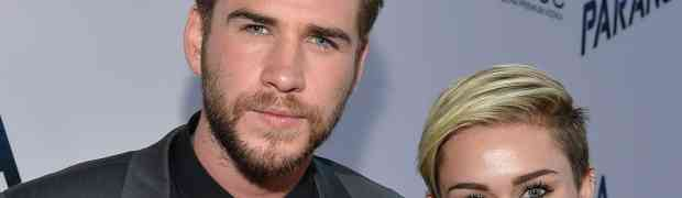 PHOTO: Miley Cyrus & Liam Hemsworth On Red Carpet Together (1st Time In 14 Months)...BUT Apart At After-Party