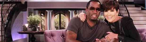 Diddy Creates The Cîroc Amaretto 'Glama' Cocktail For 'Glamorous Grandma' Kris Jenner