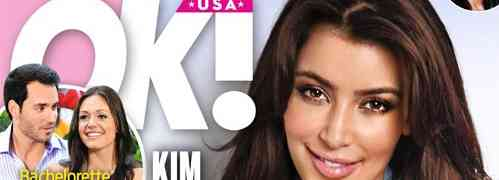 NEW 'OK!' COVER: Claims Kim Kardashian 'Begs' Kanye West To Reveal North West