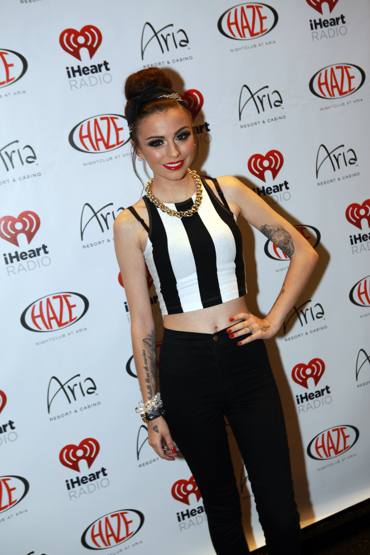 "Cher Lloyd at Haze Nightclub at ARIA in Las Vegas Sept. 19, where she performed her hit song ""I Want You Back."" (The Light Group/Seva Kalashnikov)"