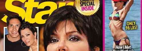 NEW 'STAR' COVER: Claims Alyson Hannigan 'Starving Herself' & More Kris Jenner Alleged Divorce Drama