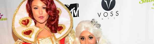 PARTY PHOTOS: Snooki & JWOWW Kick Off Halloween With Drag Queens & 'Alice In Wonderland' Costumes