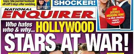 NEW 'NATIONAL ENQUIRER' COVER: Claims Mariah Carey, Nick Cannon Splitting Amongst Cheating Rumors