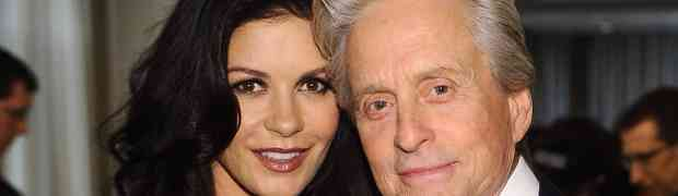 Eyewitness Claims: Catherine Zeta-Jones & Michael Douglas Spotted In Connecticut With 'His Arm Around Her'...Back On For Good?