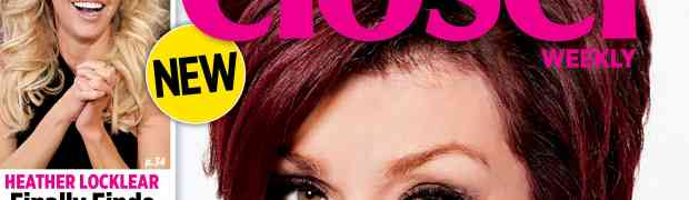 NEW 'CLOSER' COVER: Sharon Osbourne: As A Mother I Failed