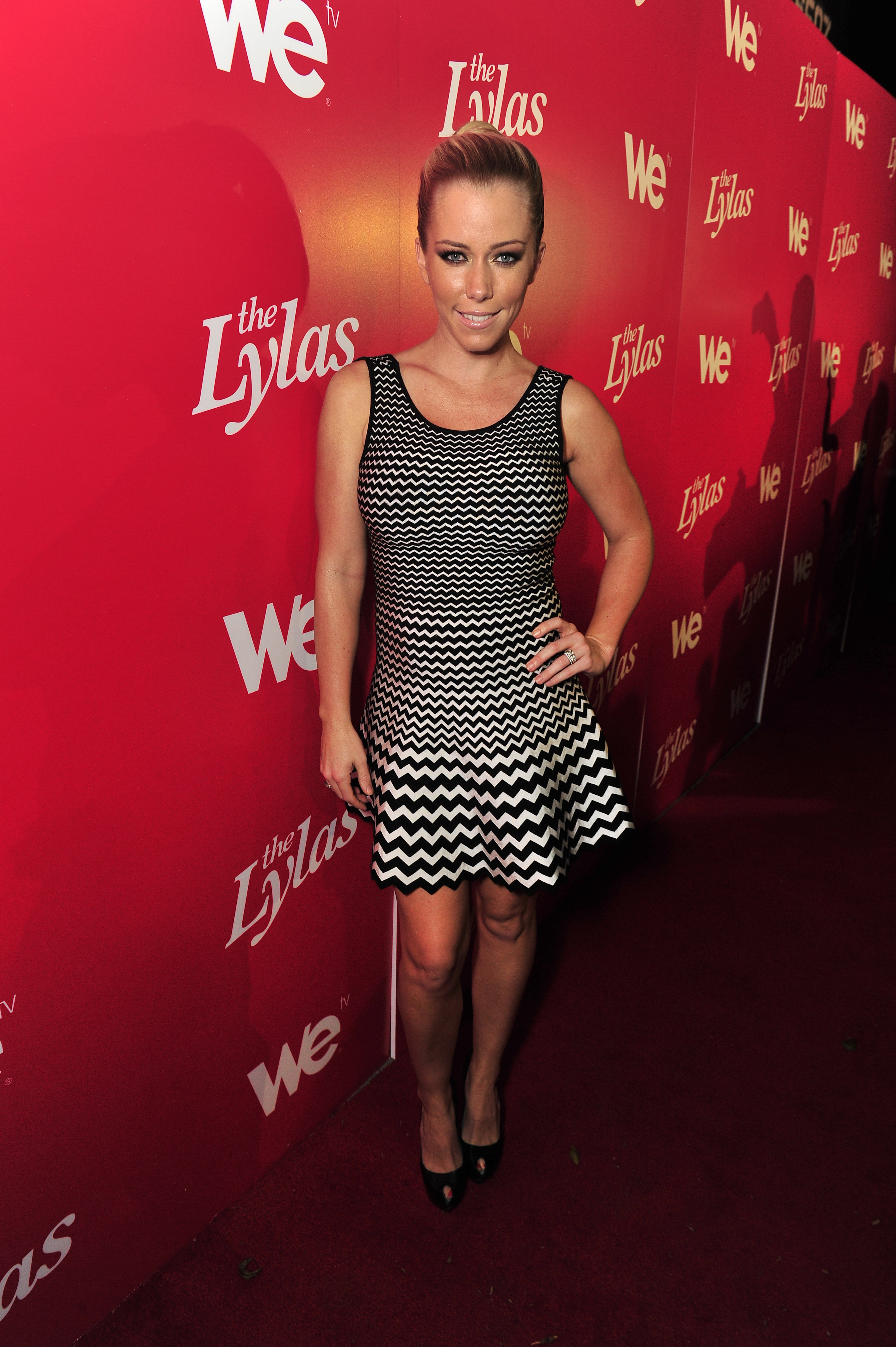 "Kendra Wilkinson at WE tv's Celebration for The Premiere Of ""The LYLAS"" at the Warwick Nov. 7 in Hollywood."