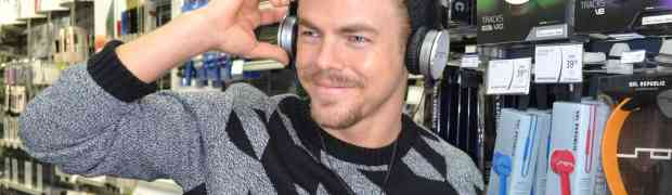 PHOTOS: Derek Hough Goes Holiday Shopping — What A Head Case!