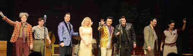 PHOTOS: Holly Madison Takes To The Stage For A Rendition Of Elvis & Ann-Margret's 'The Lady Loves Me'