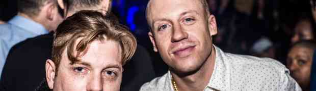 PHOTOS: Macklemore Parties At NYC's VIP Room
