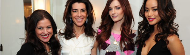 PHOTOS: Lydia Hearst & Jamie Chung's Fashion Week Fix? A Blowout & Jewelry Pit-Stop!
