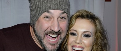 PARTY PHOTOS: Alyssa Milano, Joey Fatone, Taye Diggs Head To NYC's West Side For 'Maxim' Bash