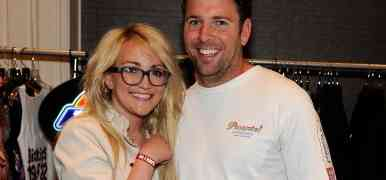 PHOTOS: Jamie Lynn Spears & Husband James Watson Make Pit Stop At ACM Awards Lounge