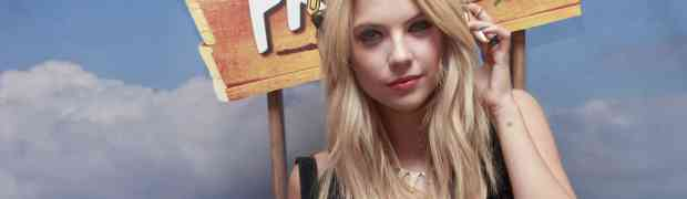COACHELLA PHOTOS: Ashley Benson Takes To The Turntables At Coachella