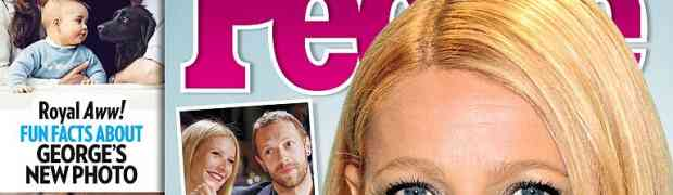 NEW 'PEOPLE' COVER: Gwyneth Paltrow & Chris Martin Had 'Been On & Off For Many Years'