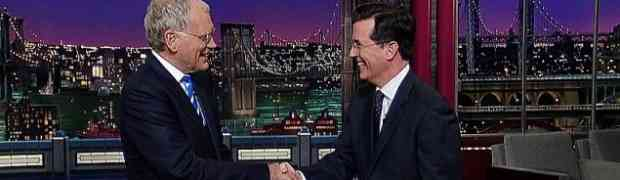 It's Official: Stephen Colbert Replacing David Letterman