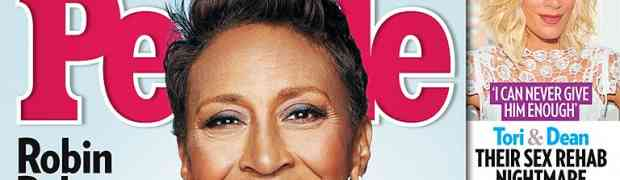 New 'People' Cover: 'GMA' Star Robin Roberts On Surviving Cancer, Coming Out, The Love Of Her Life & GMA Drama