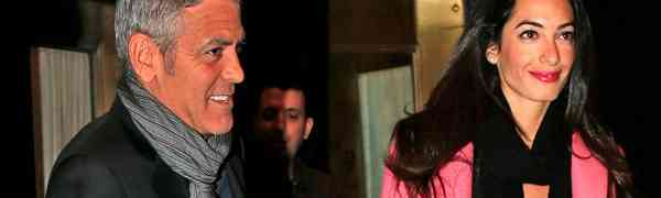 George Clooney Enagaged? Girlfriend Amal Alamuddin Spotted Showing Off Ring At Nobu Malibu