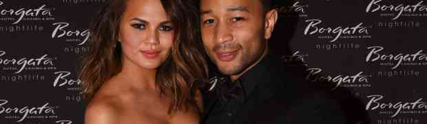 PHOTOS: John Legend, Chrissy Teigen Head To Atlantic City Immediately After #KimYeWedding