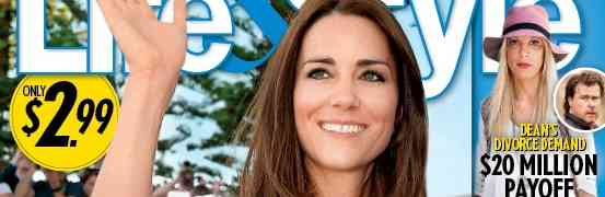 New 'Life & Style' Cover: Claims Kate Middleton Pregnant