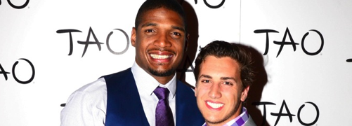 PHOTOS: Michael Sam, Boyfriend Vito Cammisano Celebrate Draft In Las Vegas