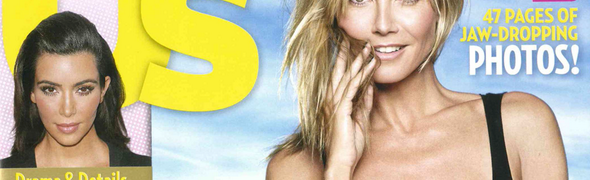 New 'Us Weekly' Cover: Heidi Klum Heats Up Annual Body Issue