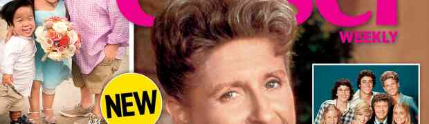 NEW CLOSER WEEKLY COVER: A Rememberance To Ann B. Davis — AKA The Brady Bunch's Alice