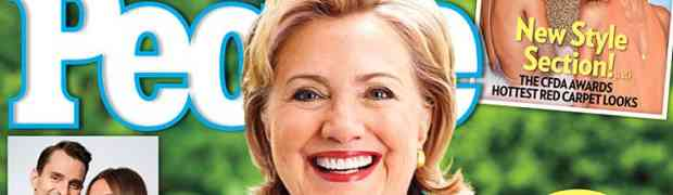 NEW PEOPLE COVER: Hillary Clinton On White House Run: I Know I Have A Decision To Make