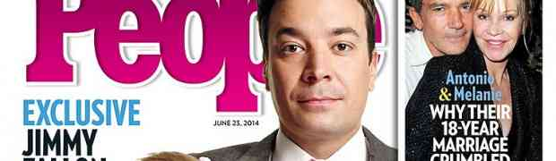 NEW PEOPLE MAGAZINE COVER: Jimmy Fallon Debuts Daughter Winnie!