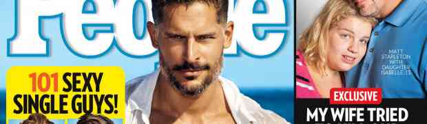 New 'People': Joe Manganiello Named 'Hottest Bachelor!'