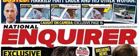 New 'National Enquirer' Cover: Claims To 'Expose' Tom Cruise's 'Gay Life'