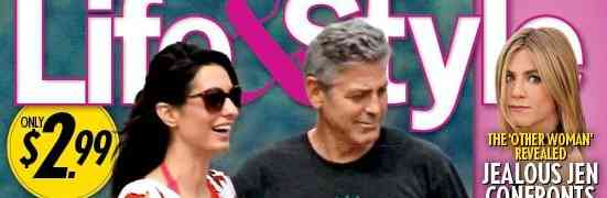 New 'Life & Style' Claims George Clooney Fiance Expecting...Publishes 'First Bump Pics'