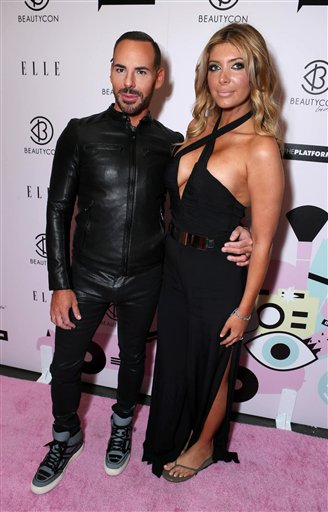 Scott Barnes and Brittny Gastineau at BeautyCon Los Angeles 2014 in Partnership with ELLE at LA Mart on Aug. 16 in L.A. (Alex Wyman)