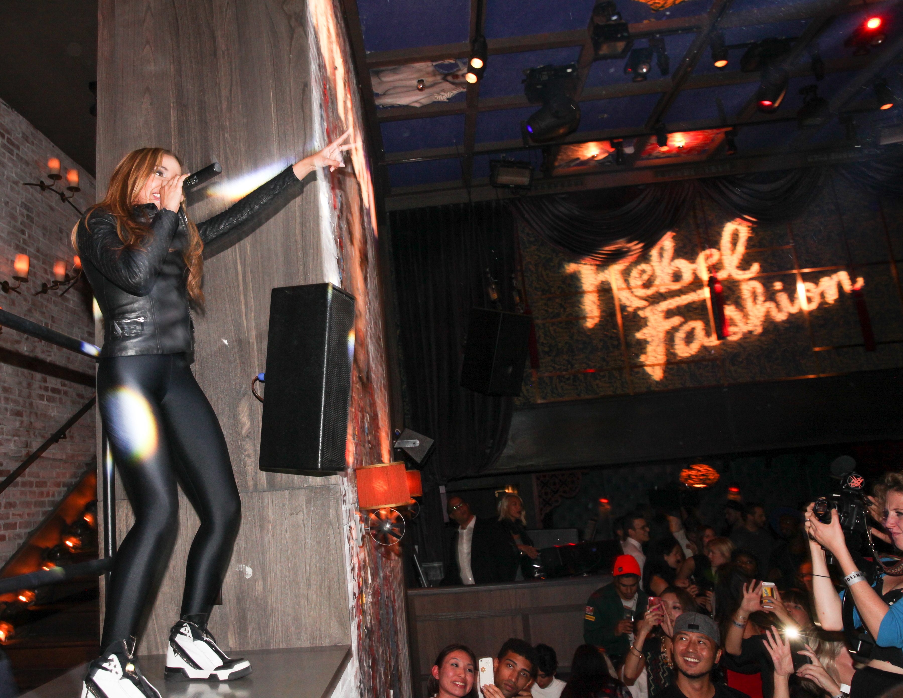 Tinashe performs at the NYLON Rebel Fashion Party at TAO Downtown Sept. 8 in NYC. (Angela Pham/BFAnyc.com)