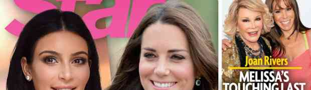 New 'Star' Magazine Links Kim Kardashian & Kate Middleton's Wombs