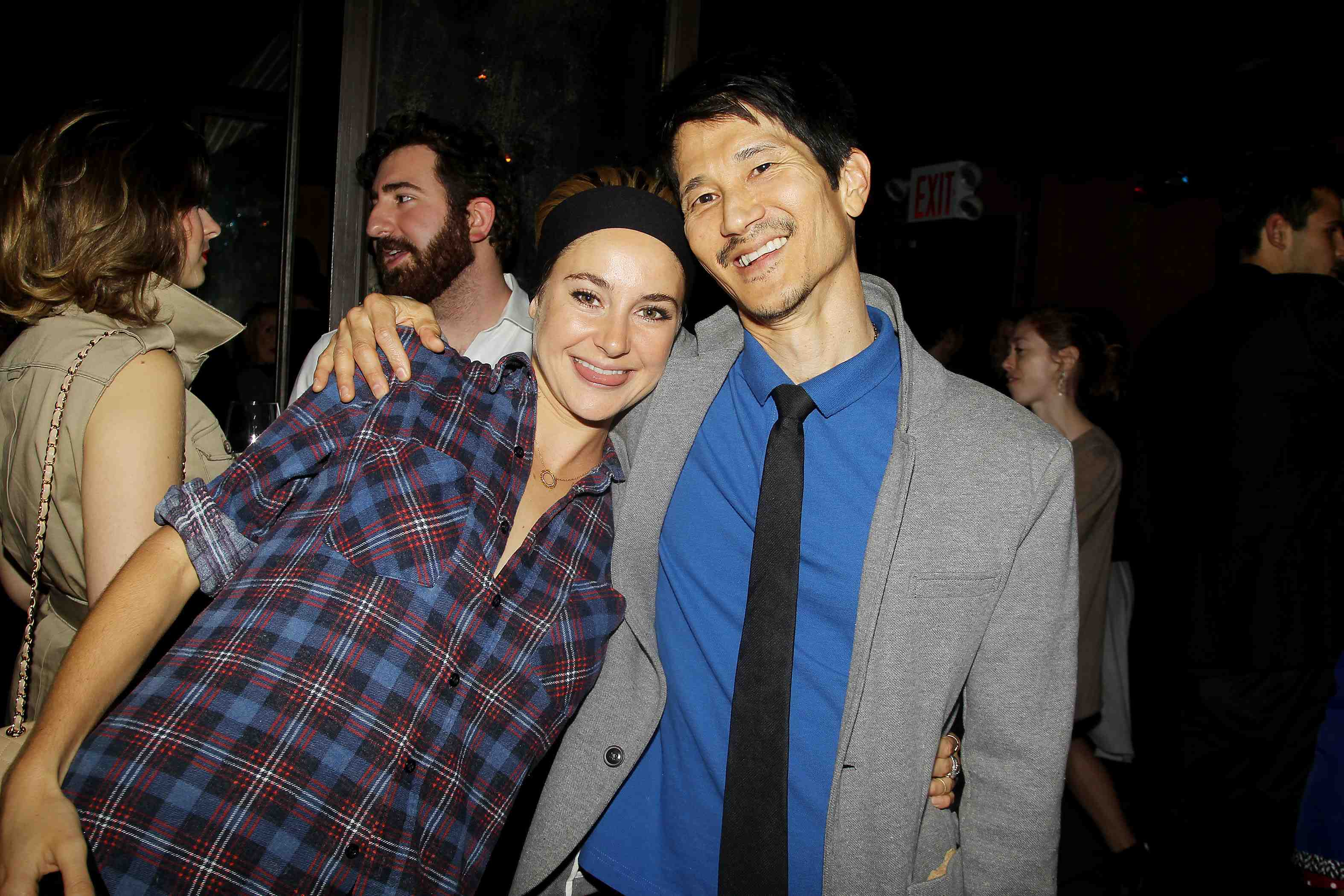Shailene Woodley and Gregg Araki at an after-party, presented by FIJI Water and SVEDKA Vodka, for a special New York screening of Magnolia Pictures'  White Bird In a Blizzard on Oct. 15. (Amanda Schwab/Starpix)