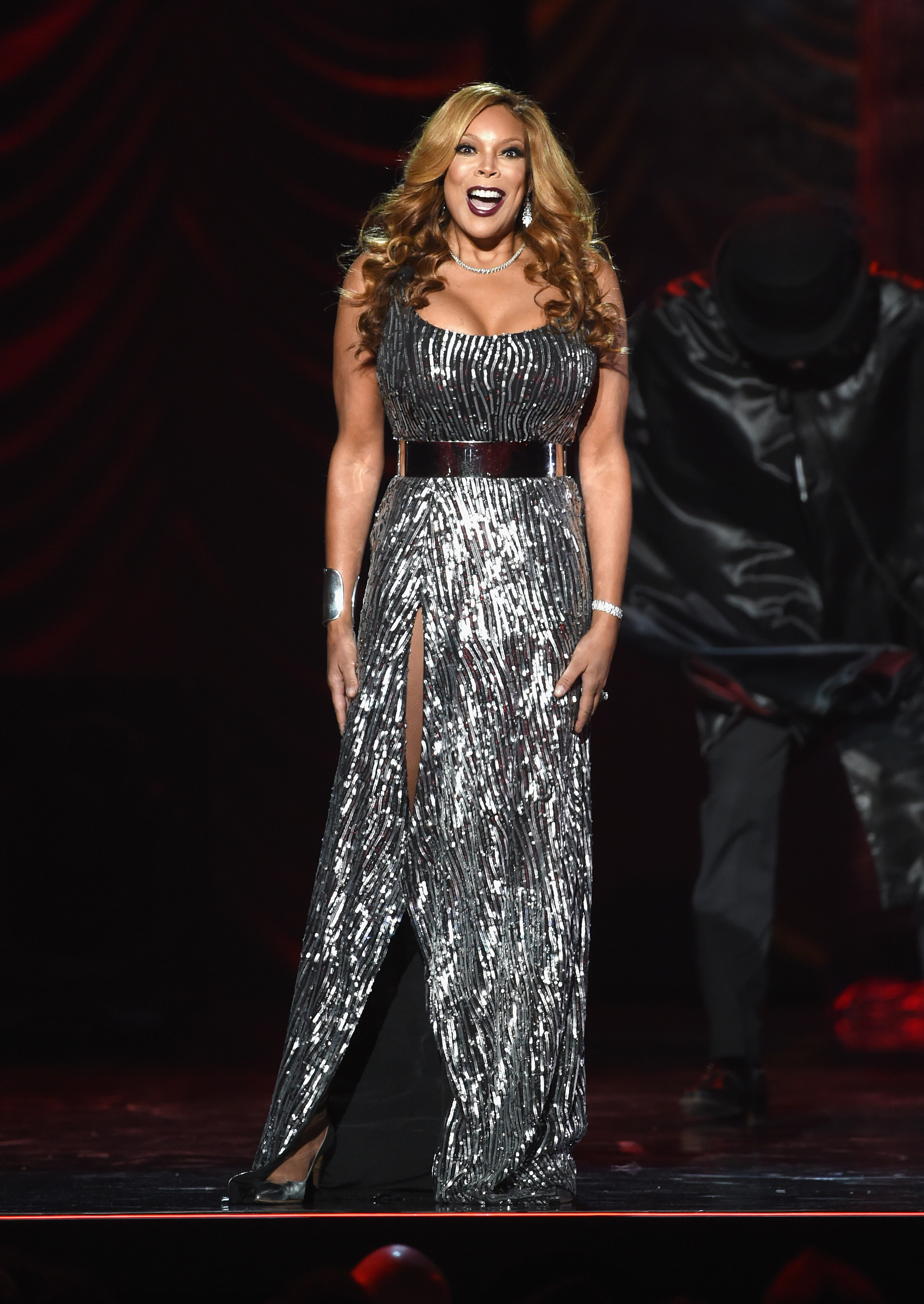 LAS VEGAS, NV - NOVEMBER 07:  Host Wendy Williams speaks onstage during the 2014 Soul Train Music Awards at the Orleans Arena on November 7, 2014 in Las Vegas, Nevada.  (Photo by Ethan Miller/BET/Getty Images for BET)