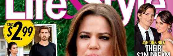 Scott Disick In Love With Khloe Kardashian, Claims Magazine [LIFE & STYLE COVER]