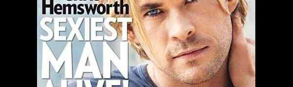 Chris Hemsworth Is PEOPLE'S Sexiest Man Alive