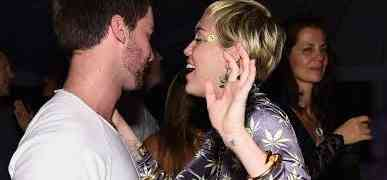 ART BASEL PHOTOS: Miley Cyrus, Boyfriend Patrick Schwarzenegger Party In Miami, With Eva Longoria, Larsa Pippen, Mr. Brainwash