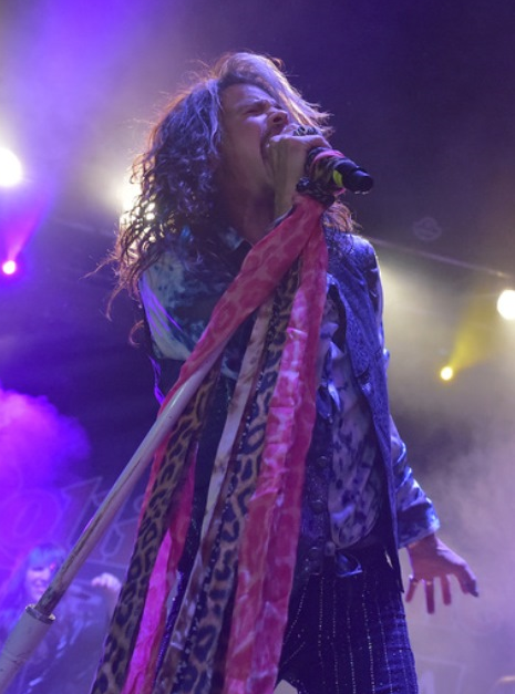 Steven Tyler performs at the Rolling Stone LIVE Presented By Miller Lite & Talent Resources Sports on Feb. 1 in Phoenix.