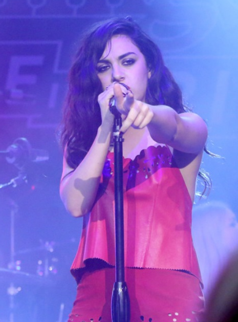 Charlie XCX performs at the Rolling Stone LIVE Presented By Miller Lite & Talent Resources Sports on Feb. 1 in Phoenix.